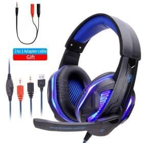 PC blue led