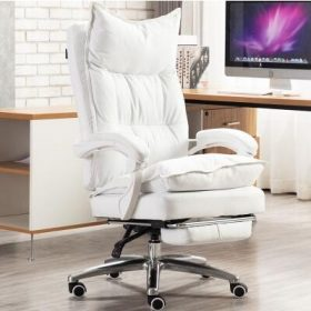 White with footrest