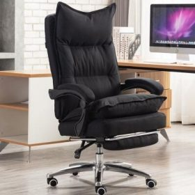 Black with footrest