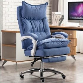 Blue with footrest