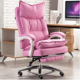 Pink with footrest