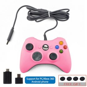 pink support phone