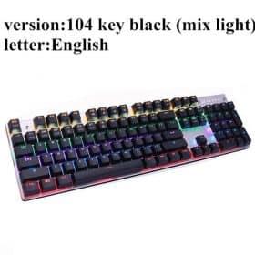104 backlit black US