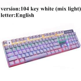 104 backlit white US