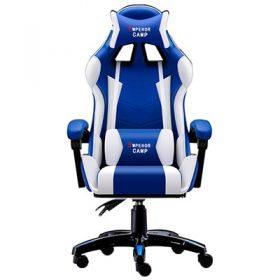 white blue no