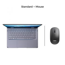with a mouse